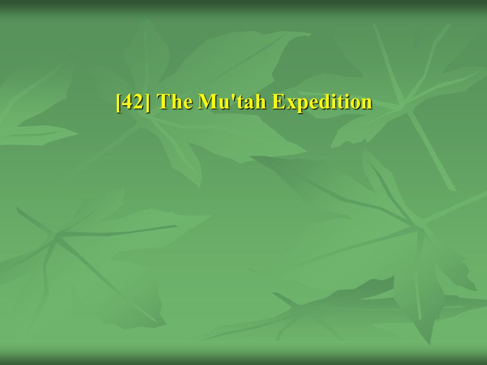 [42] The Mu tah Expedition